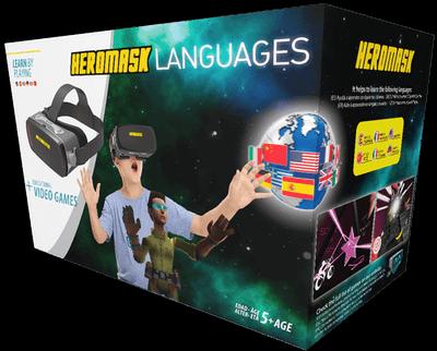 Heromask Languages packaging