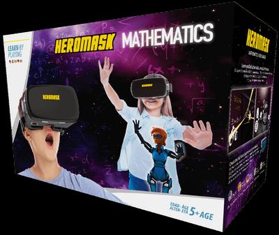 Heromask Mathematics packaging